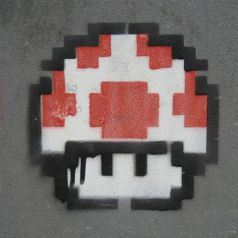 The Icon of (Minecraft) Mario