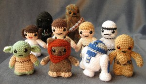 Star Wars Mini Amigurumi