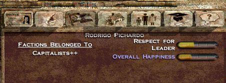 Rodrigo Pichardo's Political Life