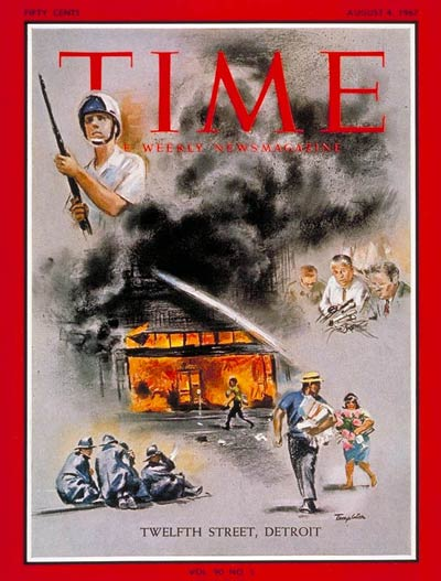 Cover of Time, August 4, 1967