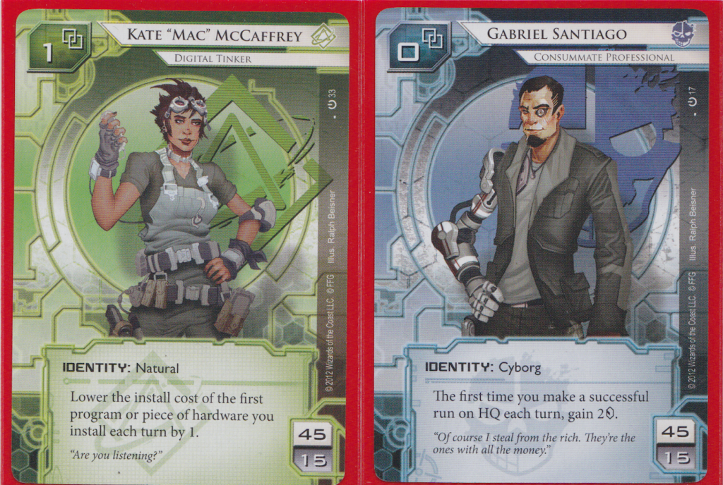 New Netrunner Runner Personalities