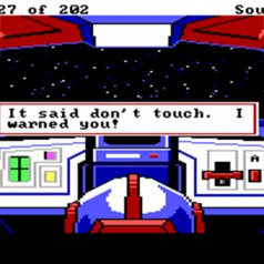 Look in Hole: Gameplay Parody in Sierra's Space Quest