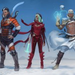 The visual look of Numenera characters. TM and © 2013 Monte Cook Games, LLC