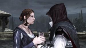 Caterina and Ezio talking
