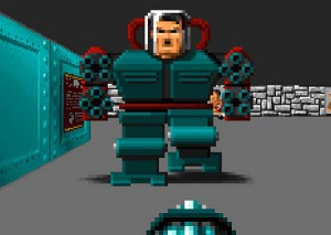 Mechahitler from Wolfenstein 3D