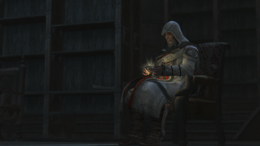 Altaïr Ibn-La'Ahad in his final moments