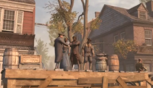 A Slave Auction from the Epilogue in Assassin's Creed III