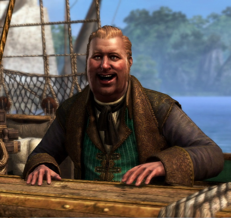 Stede Bonnet in Assassin's Creed IV: Black Flag