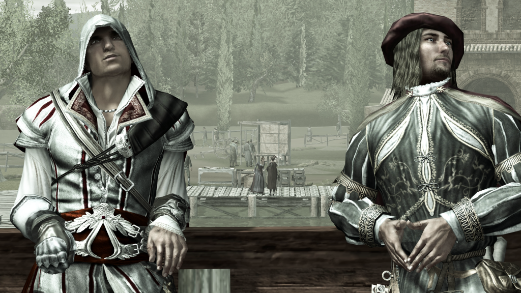 Ezio Auditore and Leonardo Da Vinci