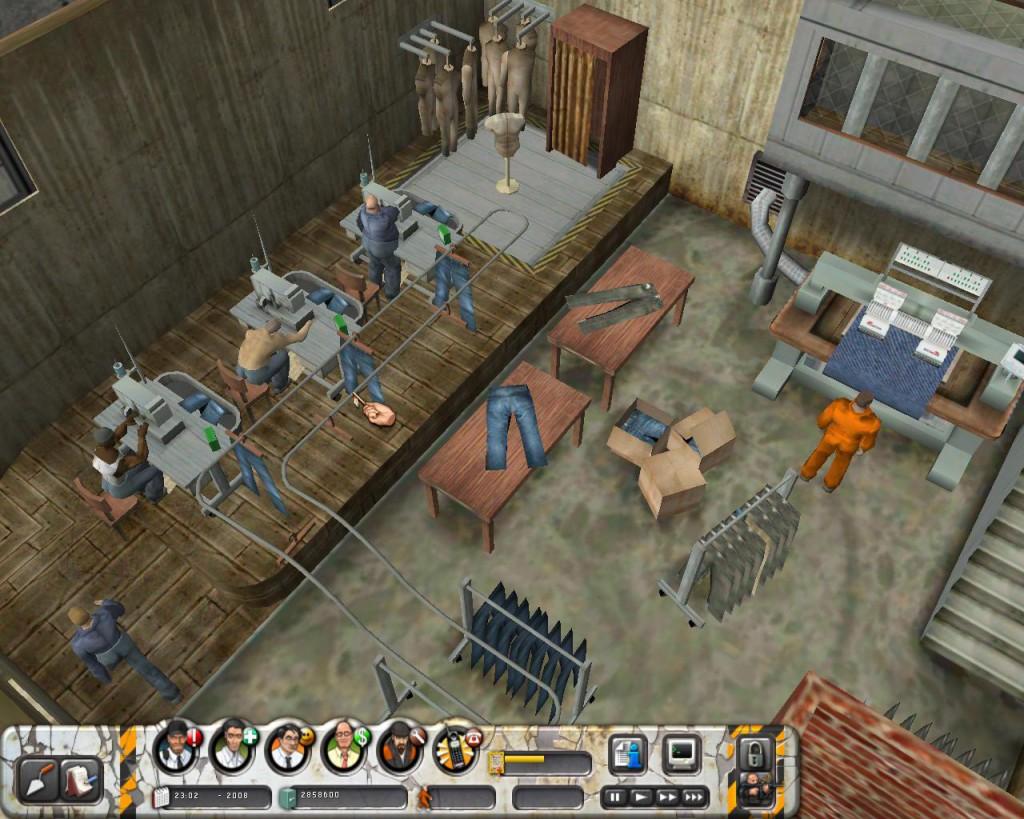 Prison Tycoon Sweatshop
