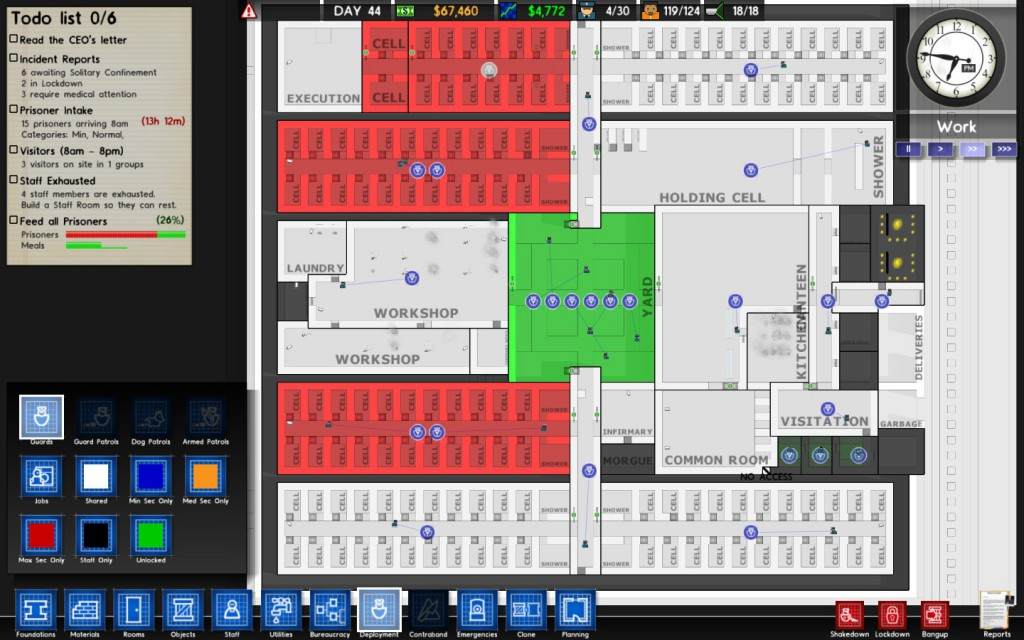 Prison Architect Deployment View