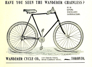 Chainless bicycles were one of the many designs that eventually disappeared in the twentieth century.