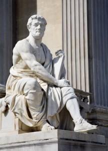 Tacitus' pillars were square.