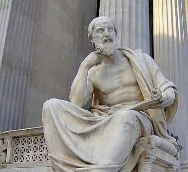 Herodotus had round pillars.