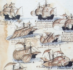 Law argues that Portuguese ships were not incrementally better than Muslim ships, but rather were assembled from a different set of elements.