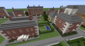 The Georgian Quarter in HullCraft takes shape as more players build from the archives.