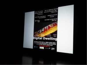 Alice Watterson's (Monumental Collective) Digital Dwelling project, which attempts to offer new innovative types of reconstruction