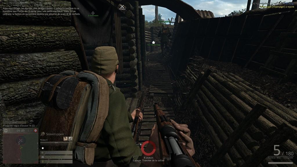 Les Fritz aux Vosges - Capturing the Enemy Trench