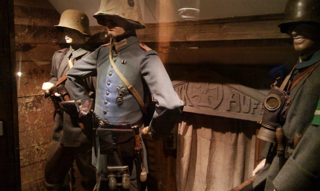Alkmaar Museum - WW1 German Uniforms