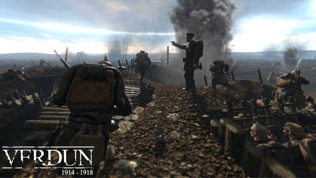 Play the past Verdun