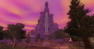 Qeynos Castle in city of Qeynos, Everquest II