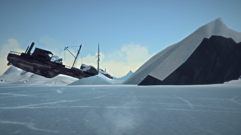 Shipwreck in the Beautiful, Frozen Data-scape