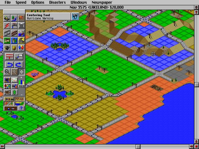 Sim City 2000 Zoning