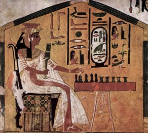 Senet art By Maler der Grabkammer der Nefertari - The Yorck Project: 10.000 Meisterwerke der Malerei. DVD-ROM, 2002. ISBN 3936122202. Distributed by DIRECTMEDIA Publishing GmbH., Public Domain, https://commons.wikimedia.org/w/index.php?curid=154294